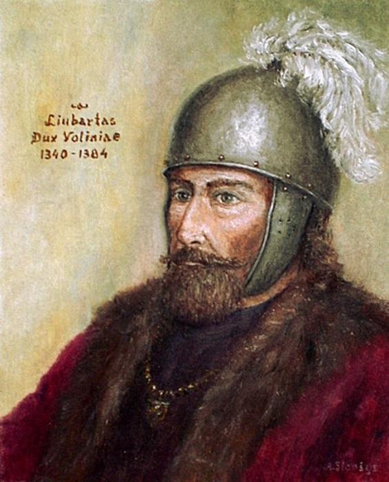 Любарт-Дмитрий женился удачно: все близкие родственники жены скоро умерли.